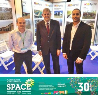 AGROGI Y FERIA INTERNACIONAL SPACE FRANCE 2016